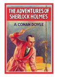 Adventures of Sherlock Holmes Wall Decal