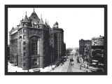 Niagara Street, Buffalo, New York Wall Decal by William Henry Jackson