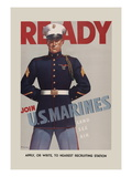 Join U.S. Marines Wall Decal by  Sundblom