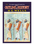 Outline of History by H.G. Wells, No. 6: Warriors Wall Decal