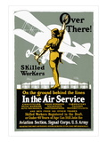 Join the Aviation Section of the Signal Corps Autocollant mural par Louis Fancher