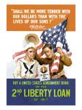 2nd Liberty Loan Wall Decal