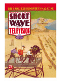 Short Wave and Television: Short Waves Aid Movie Directors Wall Decal
