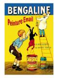 Bengaline: Peinture Email: La Meilleure, La Moins Chere Wallstickers af Eugene Oge
