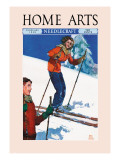 Home Arts, February 1939 Wall Decal by Ralph Coleman