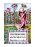 My Lady's Garden, c.1885 Wall Decal by Walter Crane