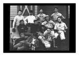 College Baseball Players with Terrier Wall Decal