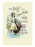 The Belle of New York Wall Decal by W&d Downey
