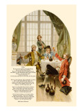 School for Scandal: Song Verse Wall Decal by Lucius Rossi