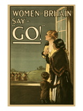 Women of Britain Say Go! Wall Decal by Kealey