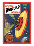Science Wonder Stories: Invasion of the Landmark Snatchers Wall Decal