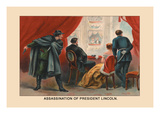 Assassination of President Lincoln Wall Decal by Harriet Putnam