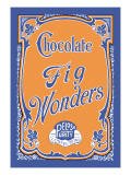 Chocolate Fig Wonders Wall Decal