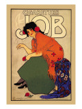 Cigarettes Job Wall Decal by Alphonse Mucha