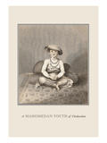 Mahomedan Youth of Distinction Wall Decal by Baron De Montalemert