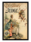 Judge Magazine: Christmas Judge Wall Decal