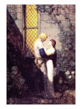 Oh, Gentle Knight Wall Decal by Newell Convers Wyeth