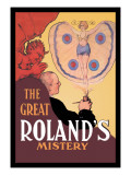 The Great Roland's Mystery Wall Decal