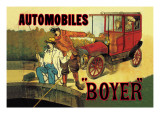 Boyer, Automobiles Wall Decal