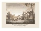 Cheeta Hunt at Cambay Wall Decal by Baron De Montalemert
