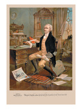 Alexander Hamilton Wall Decal
