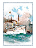 U.S. Navy: Mighty Wall Decal by Willy Stower