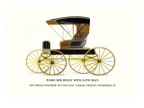 Piano Box Buggy with Auto Seat Wall Decal