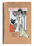 Beauty and the Beast Wall Decal by Walter Crane