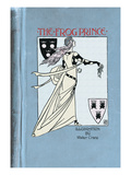 The Frog Prince Wall Decal by Walter Crane