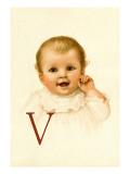 Baby Face V Wall Decal by Dorothy Waugh