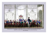 Theatrical Fund Dinner Held at Freemasons Tavern Wall Decal by Pierce Egan