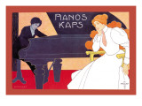 Pianos Kaps Wall Decal by Hans Pfafe