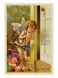 Cupid, To My Valentine Wall Decal