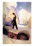 Discovery of the Chest Wall Decal by Newell Convers Wyeth