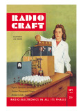 Radio Craft: Electronic Egg Grader Wall Decal