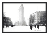 Flatiron Building After Snowstorm Wall Decal by William Henry Jackson