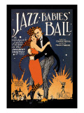 Jazz Babies' Ball Wall Decal