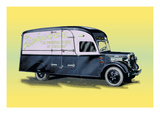 Furniture Delivery Truck Wall Decal