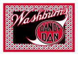 Washburn's Dandy Dan Wall Decal