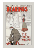 Bearings: The Cycling Magazine Wall Decal by Charles Arthur Cox
