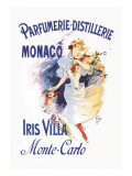 Parfumerie-Distillerie, Monaco Wall Decal by Jules Chéret