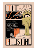 The Philistine Wall Decal by Dwight Ripley Collin