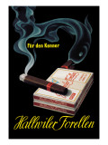 Hallwiler Forellen Cigars Wall Decal by Fritz Meyer Brunner