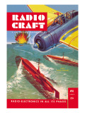 Radio Craft: Radio Motored Torpedoes Wall Decal