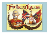Two Great Leaders- Lord Roberts and Wilson's Wall Decal by Arthur Smith