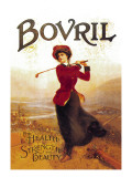 Bovril, For Health, Strength and Beauty Wall Decal