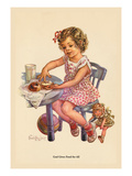 God Gives Food for All Wall Decal by Charlotte Ware