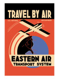 Eastern Air Transport System Wall Decal