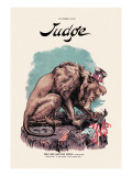 Judge: The Lion and the Viper Wall Decal