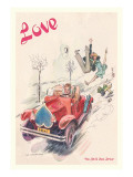 Love's a Wild Ride Wall Decal